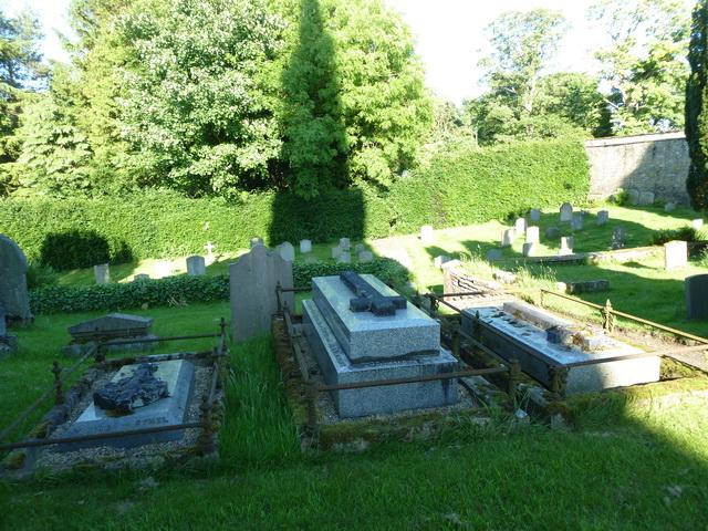 Holy Trinity, Matfen, Graveyard