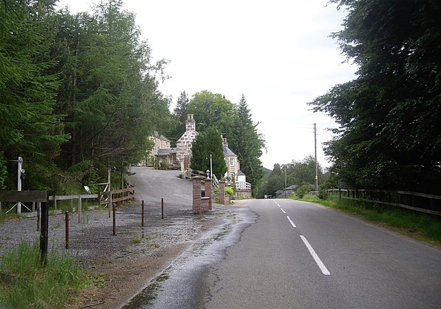 Access to Pannanich Wells Hotel