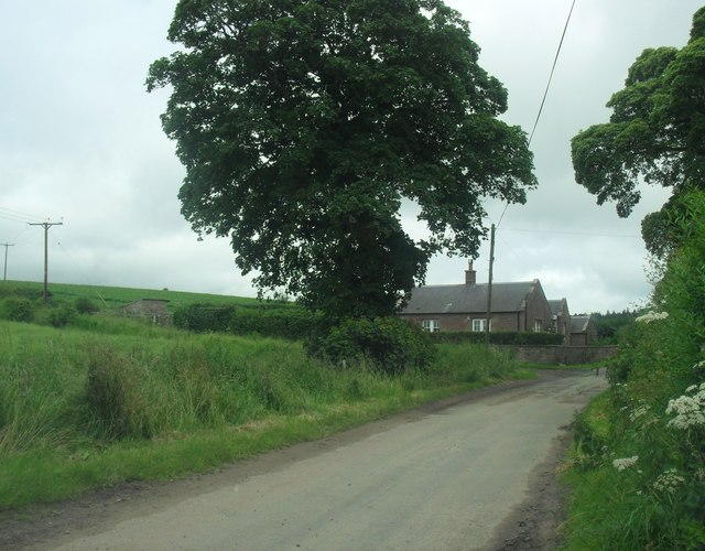 Roadside cottages at Grahamslaw