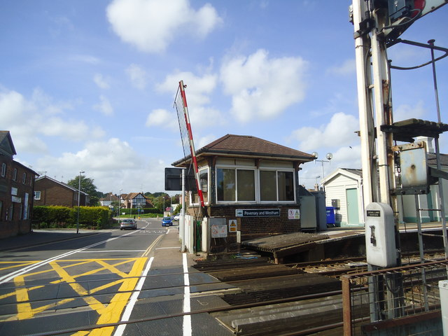 Pevensey and Westham signal box