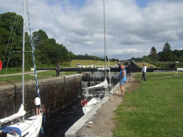 Crinan Canal - Lock No 10