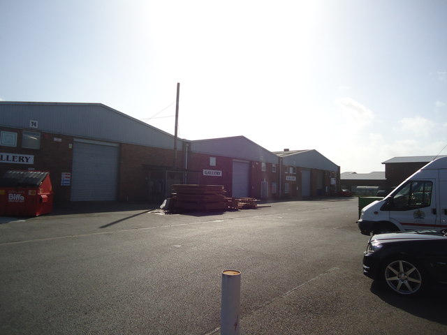 Hammonds Drive industrial estate, Eastbourne