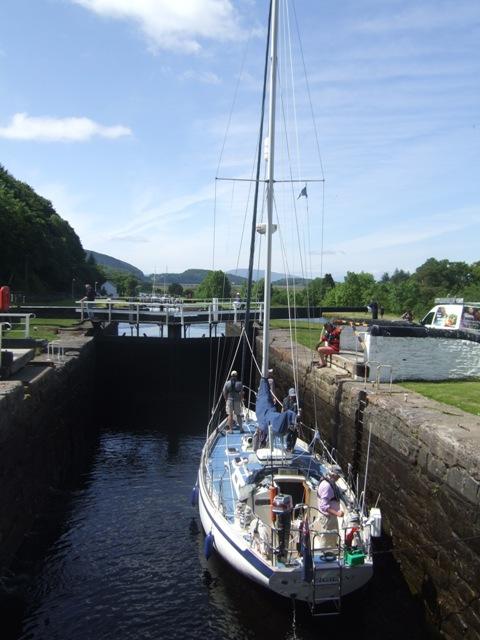 Crinan Canal - Lock No 11