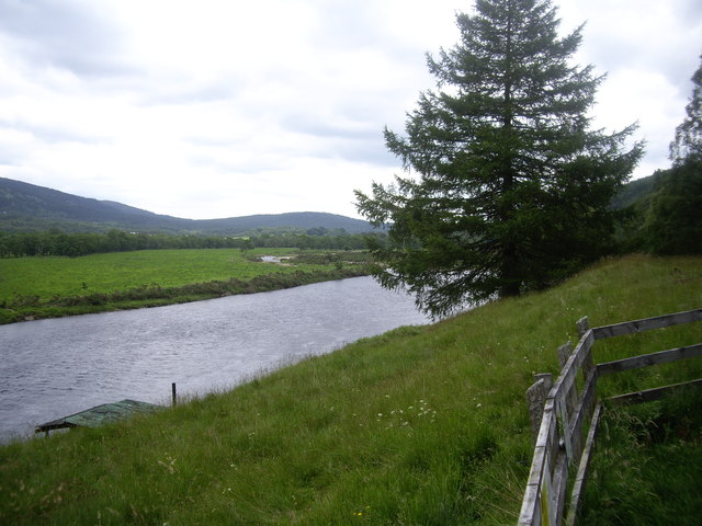 An island in the River Dee