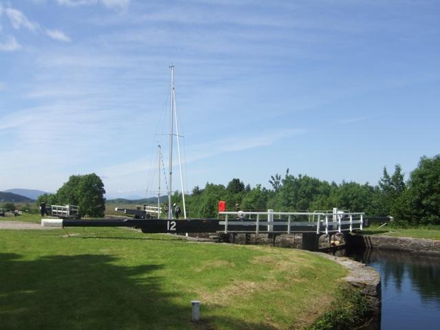 Crinan Canal - Lock No 12