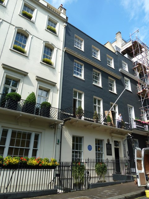 Former home of George Canning in Berkeley Square