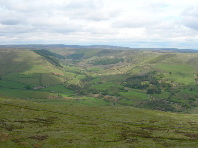 View northwest from Crookstone Knoll