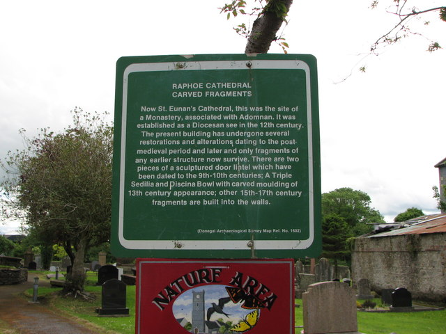 Information sign, Raphoe