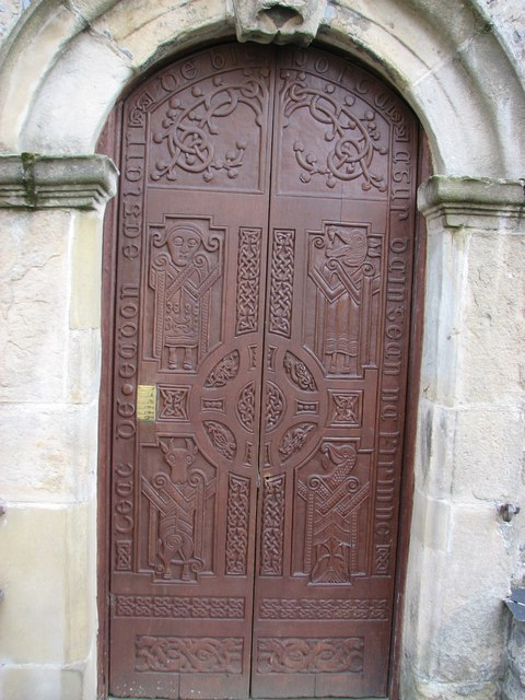 Raphoe Cathedral door