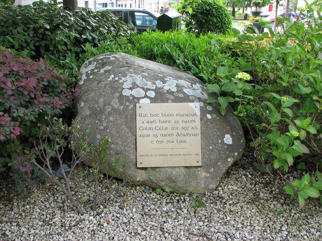 Information plaque, Raphoe