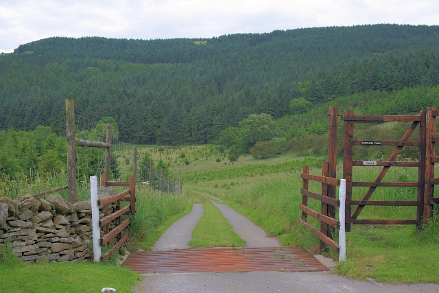 Access to Topclose Farm