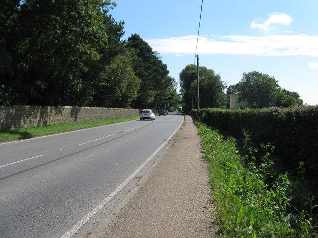 A284 road