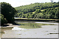 SW8633 : Porth Creek low tide as seen at Froe by roger geach