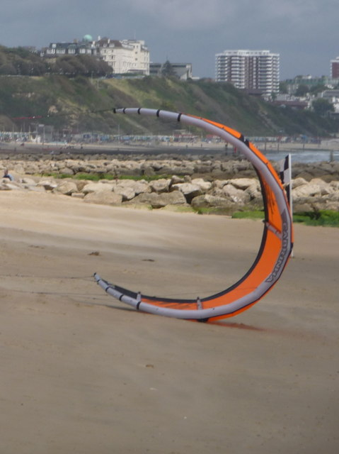 Branksome: kitesurfing equipment