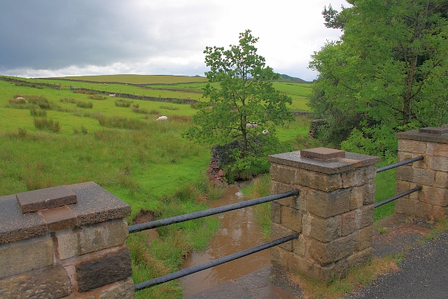 Bridge Parapet over Tor Brook