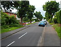 ST5576 : Tree-lined Meadway, Sea Mills, Bristol by John Grayson