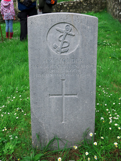 War grave, Rathlin Island