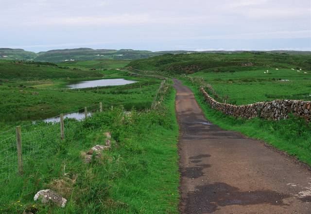 Road, Rathlin Island