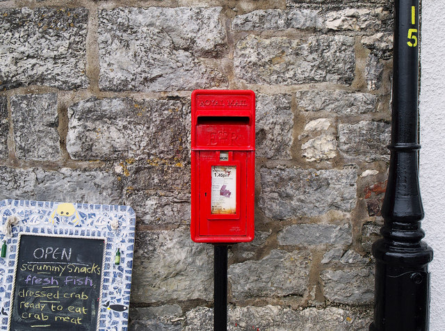Postbox, Rathlin Island