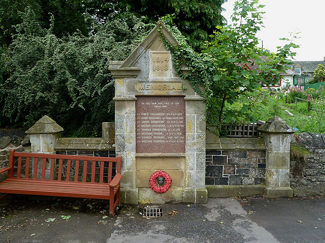 Stichill War Memorial