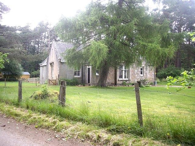 A house near The Girnock