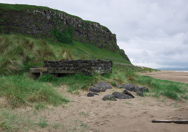 Pillbox, Downhill Strand