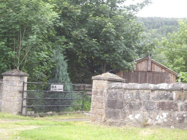 Access gate to Cairn Ledchan