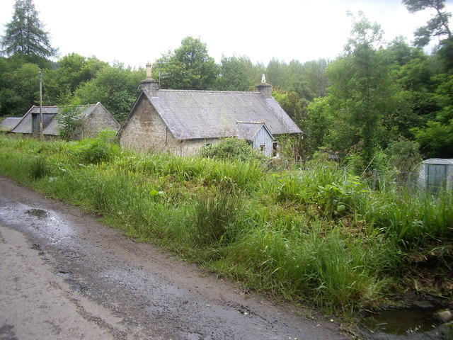 A Croft between The Dee and the B976