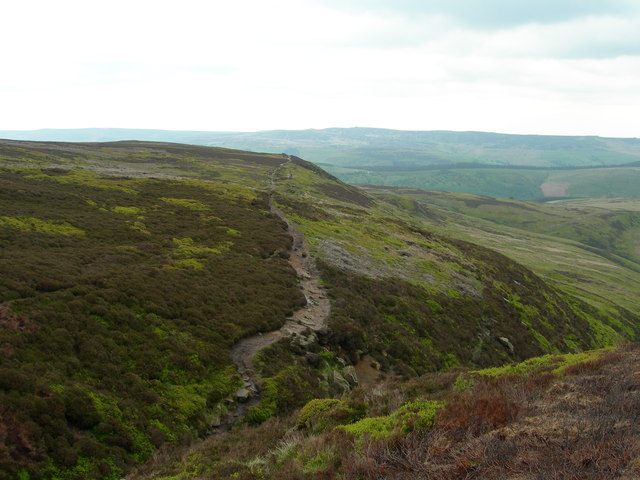 Path towards Crookstone Knoll/Crookstone Hill