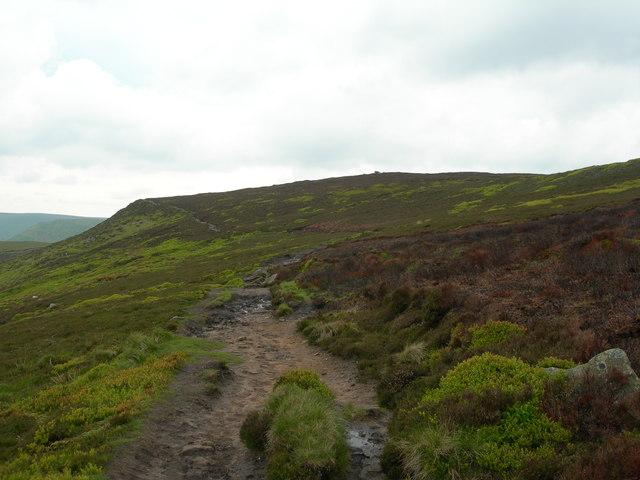 Westward across Rowland Cote Moor