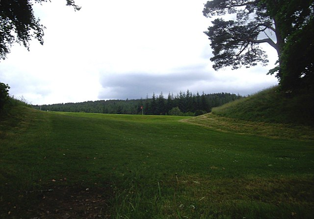 The western side of Balmoral private golf course