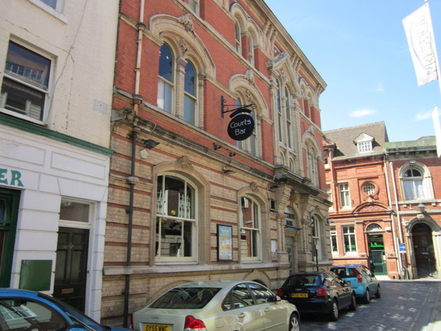 The Courts Bar on Bowlalley Lane, Hull