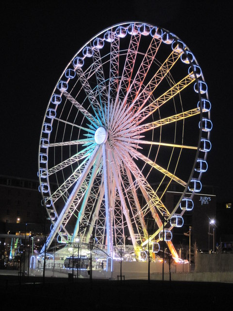 The Echo Wheel of Liverpool