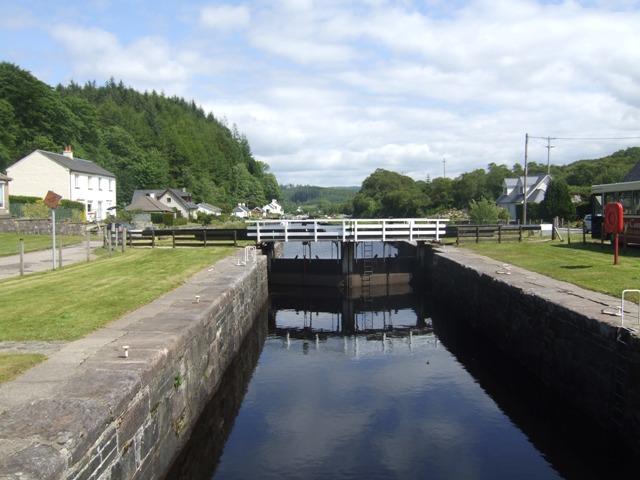 Crinan Canal - Lock No 8