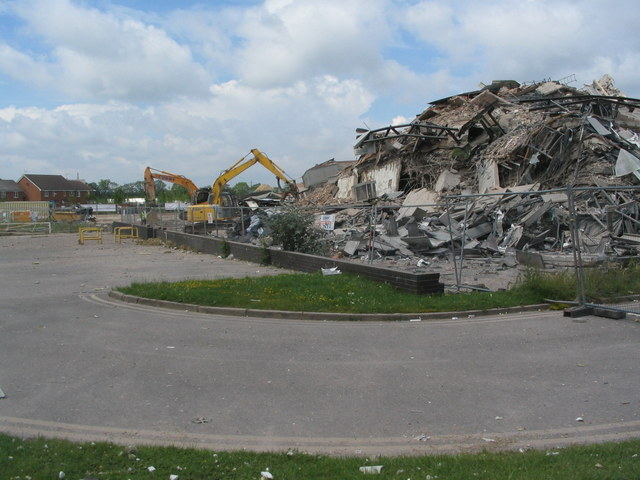 Rubble clearance, Banner Lane
