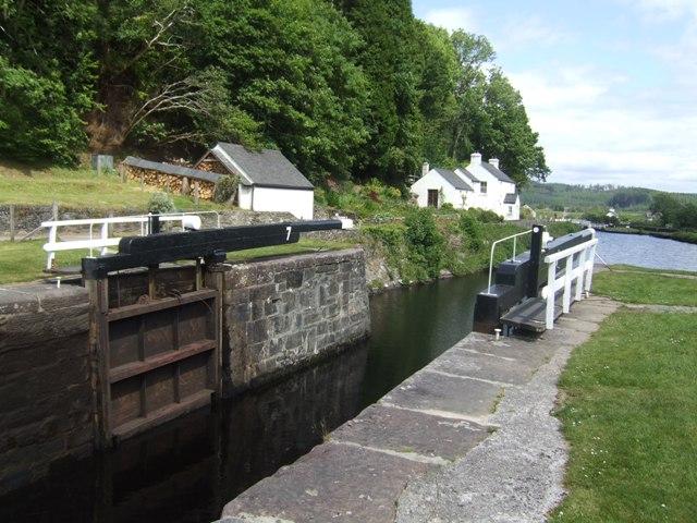 Crinan Canal - Lock No 7