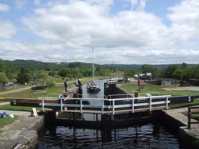 Crinan Canal - Lock No 5