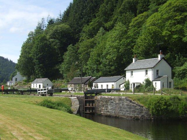 Crinan Canal - Lock No 6
