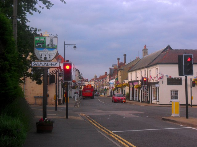 Saxmundham - At the crossroads