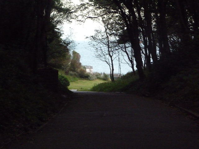 Westbourne: path through Middle Chine