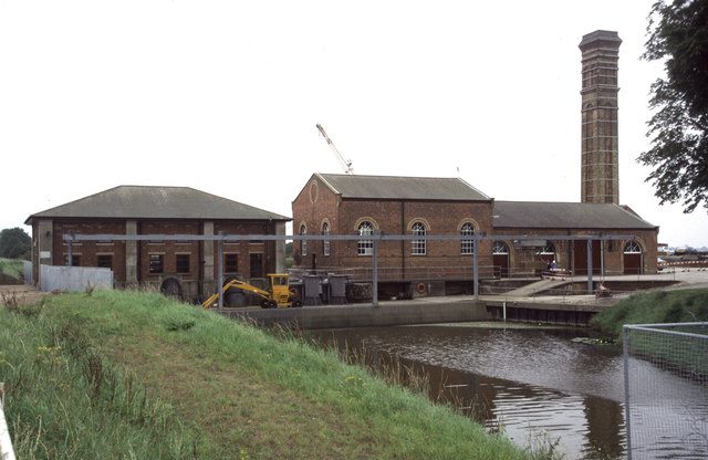 Lade Bank Pumping Station