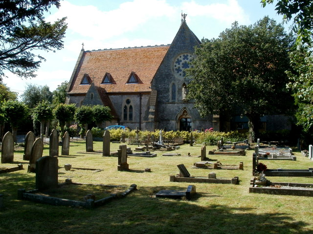 Former St Anne's church and churchyard, Hewish