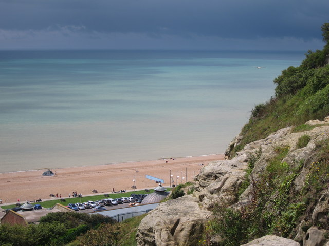 Pelham Beach and sea