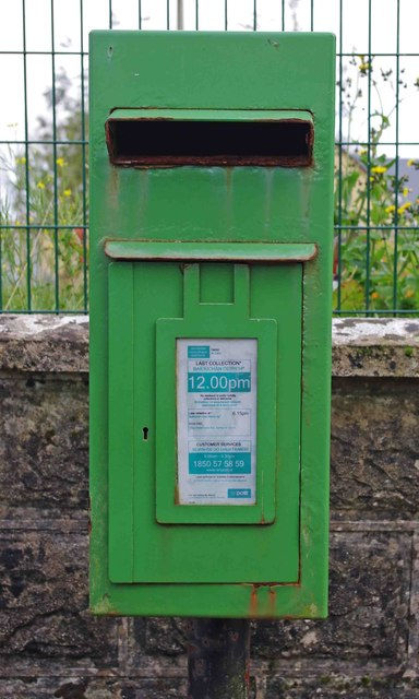 Postbox, Carran, Co. Clare