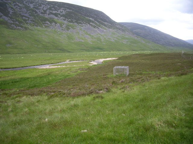 Crow trap by the Water of Clunie