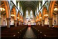 SJ8791 : St Paul's C of E Church nave, Heaton Moor by Phil Rowbotham