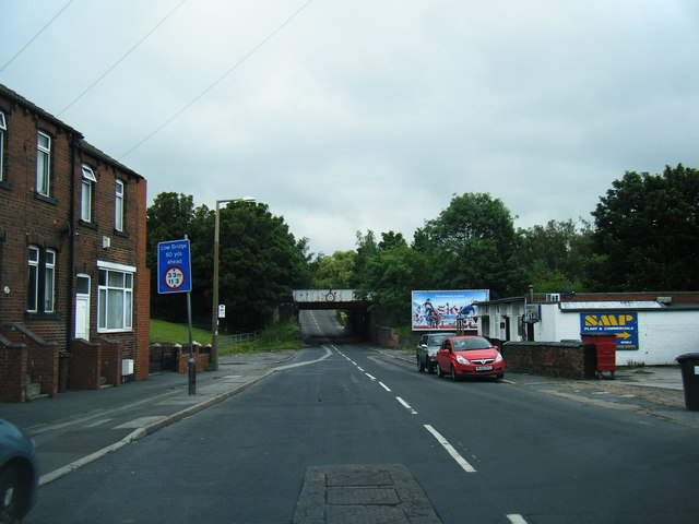 B6428 looking east