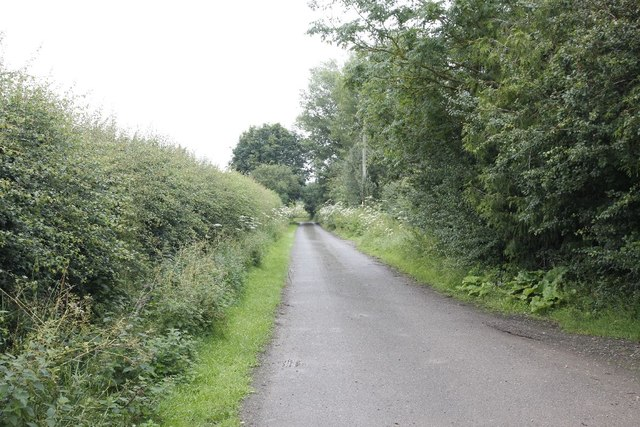 Lane to the church