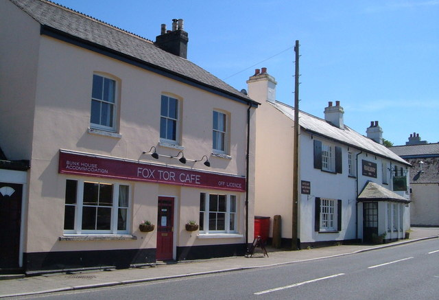 Cafe and pub, Princetown
