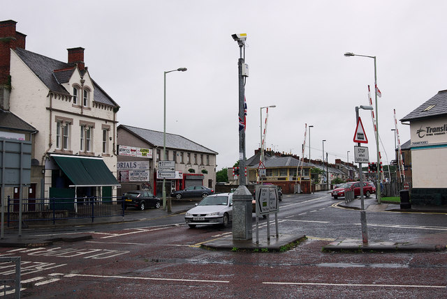 Road junction, Coleraine